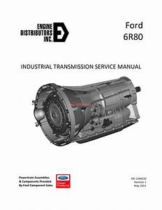 Ford 6r80 Industrial Transmission Service Manual