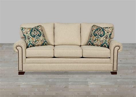 sectional sofa with nailhead trim custom upholstered fabric sofa nailhead trim custom