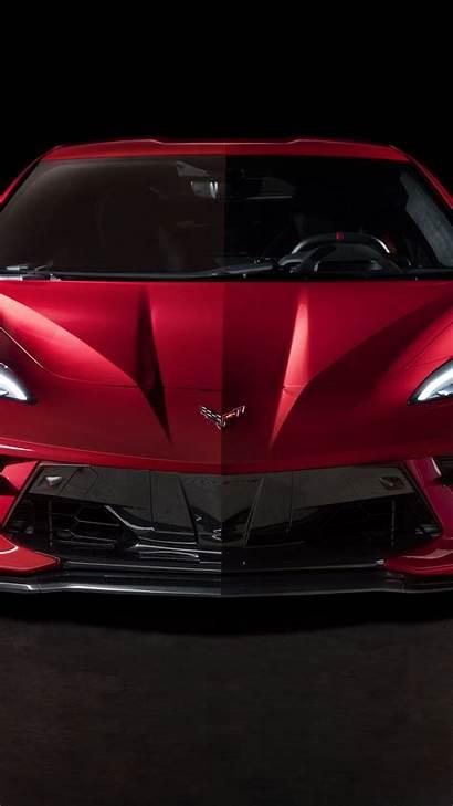 Corvette C8 Chevrolet Portrait Wallpapers Background Backiee