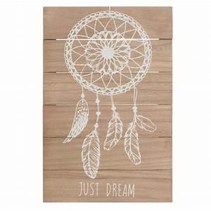Attrape Reve Maison Du Monde : tableau attrape r ves en bois 23 x 34 cm just dream ~ Dailycaller-alerts.com Idées de Décoration