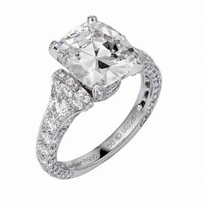 cartier camelia cushion cut diamond engagement ring With cartier wedding rings
