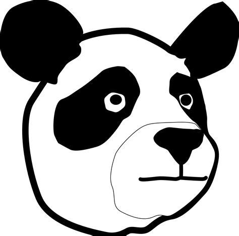 Clip Art: Panda Head Christmas Xmas Teddy Bear ...