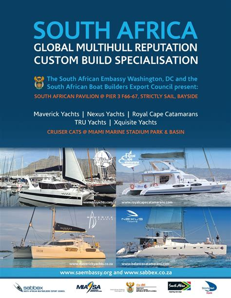 Boat Show 2017 South Africa miami boat show south embassy