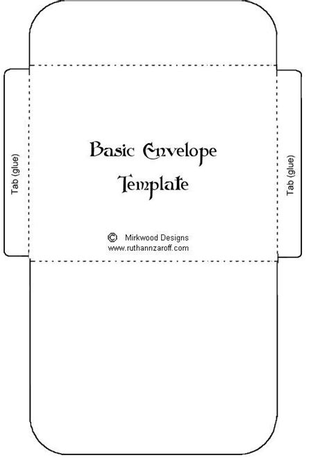 moldes de sobres originales para imprimir imagui tarjetas y printables hacer sobres