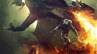 Witcher Dragon Geralt Kings