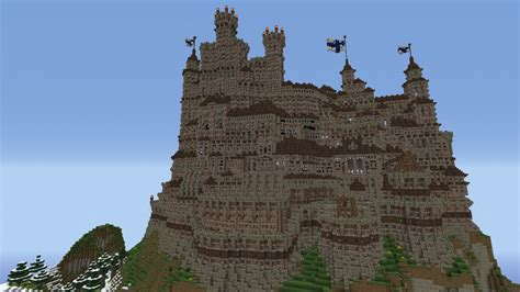 An Improvised Hill Fortress Minecraft Project