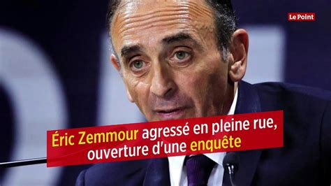 Éric Zemmour agressé - YouTube