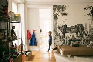 awesome decoration chambre bebe jungle photos design With decoration chambre bebe theme jungle