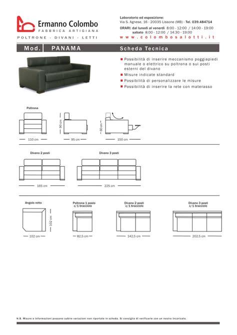 colombo divani catalogo divani relax ermanno colombo produzione e
