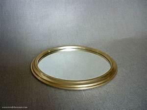 Plateau Miroir Rond : petit plateau rond miroir vintage r ve de brocante ~ Teatrodelosmanantiales.com Idées de Décoration