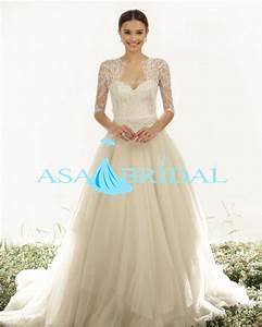online buy wholesale lace 3 4 sleeve wedding dress from With wedding dress 3 4 sleeve