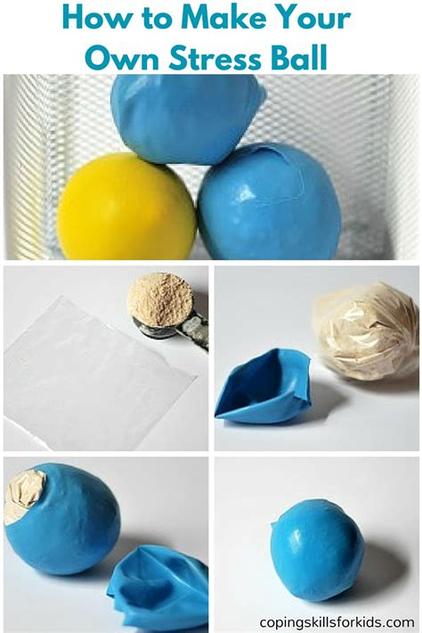 how to make your own pops homemade stress balls coping skills for kids
