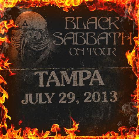 July 29, 2013  Tampa, Fl  Black Sabbath Online