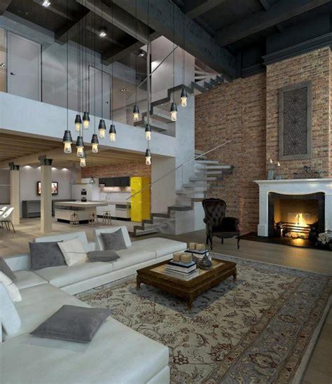 meuble cuisine vitré 35 lofts industriels créés avec un logiciel de rendu 3d
