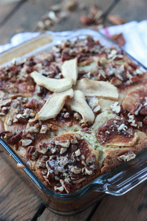 I'll take one of those any day! Apple Sour Cream Coffee Cake   Little Broken