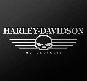 Harley Davidson Aufkleber : harley davidson totenkopf sticker tenstickers ~ Jslefanu.com Haus und Dekorationen