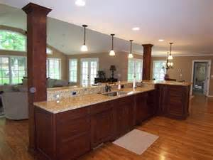 kitchen island with columns kitchen islands you ll love home decor pinterest kitchen