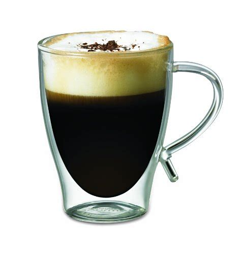 Starfrit Double Wall Glass Coffee Mug, 12ounce Buy