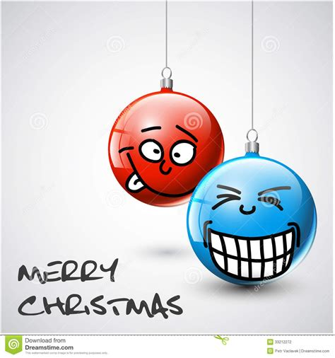 funny christmas baubles vector baubles with faces stock vector illustration of gift 33212272