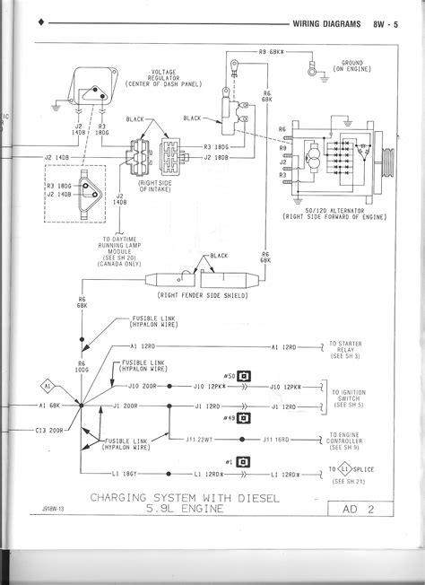 1990 Dodge W250 Wiring Diagram by 1stgen Org View Topic Alternator Wiring