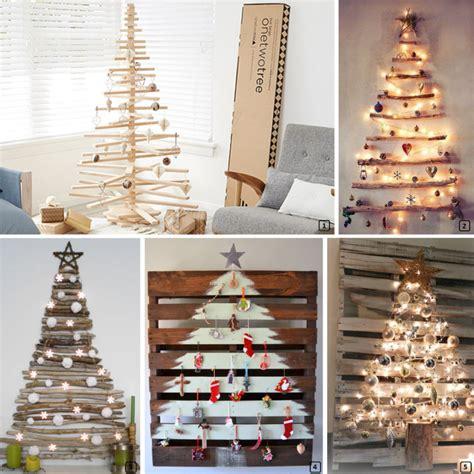 diy chirstmas tree ideas  rentals bnbstaging le blog