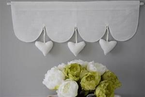 Rideaux Style Romantique : rideaux brise bises cantonni res et stores d coration ~ Melissatoandfro.com Idées de Décoration