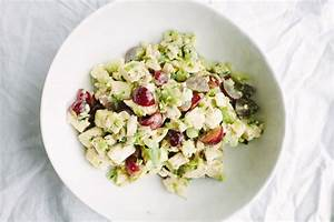 Chicken Salad with Pickled Grapes and Celery Leaves Recipe ...
