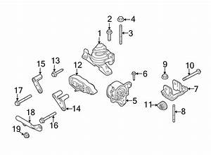 2014 Ford Taurus Engine Mount  Front   Cnglpg  Wcnglpg