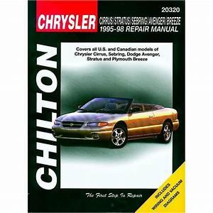 Chrysler Cirrus Stratus Sebring Avenger Breeze 1995