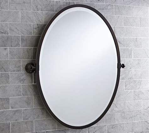 oval pivoting bathroom mirror 1000 ideas about oval mirror on room