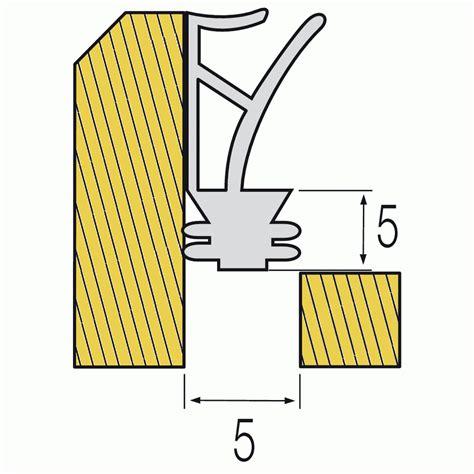 joint silicone pour porte et fen 234 tre rainure de 5 mm helios bricozor