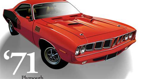 Mopar Muscle Car Desktop Wallpaper