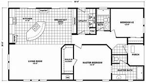 1987 Fleetwood Mobile Home Floor Plans