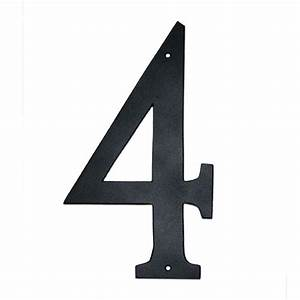 montague metal products 4 in standard house number 4 With house numbers and letters home depot