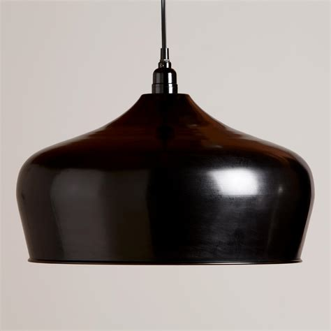 black iron bell pendant l world market