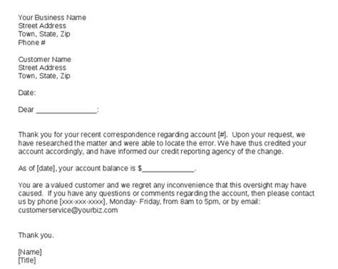 Customer Response Letter Templates Natashamillerweb