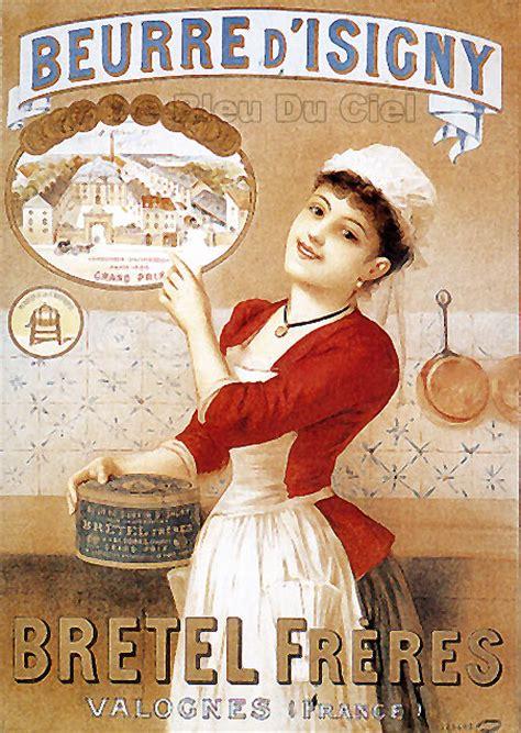 affiche vintage cuisine affiches anciennes fromages pinteres