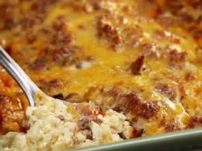 breakfast bake recipe breakfast casserole recipe paula deen food network