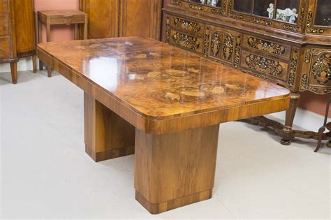 antique walnut dining table astonishing art deco furniture at regent antiques 06326