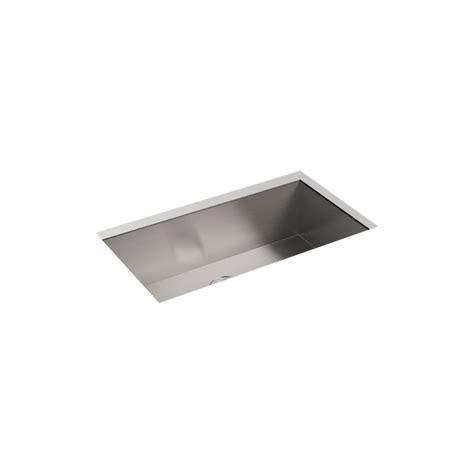 kohler stainless steel sink and faucet package kohler lyric undermount stainless steel 33 in 4 hole