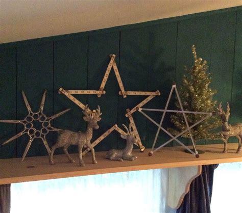 scissor star  office supply stars christmas decorations