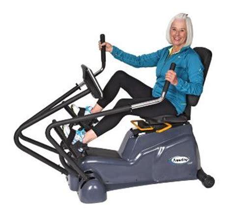 low back reclining fitnesszone hci fitness arm bikes