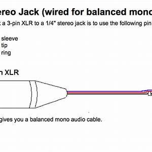 Balanced Xlr Wiring Diagram