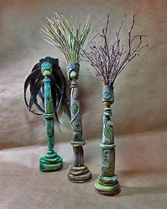 17 best images about polymer clay on pinterest polymers With kitchen cabinets lowes with polymer clay candle holder