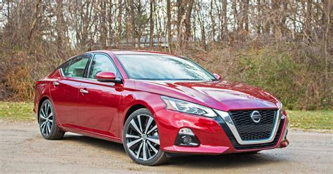 Nissan Altima Styles by 2019 Nissan Altima Review Better Dressed With Better Tech