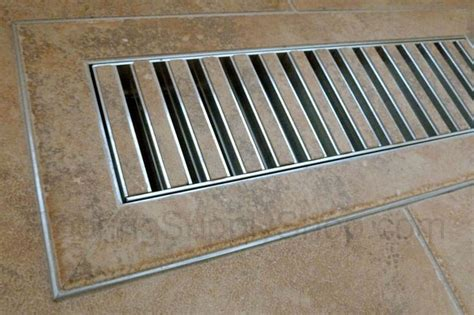 chameleon tile vent registers 4 x 12 by flooringsupplyshop