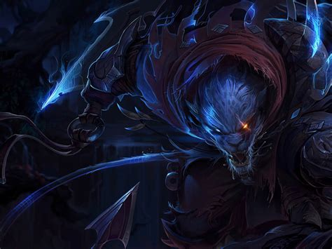 league  legends assassin night hunter rengar skin