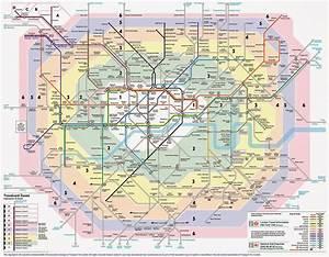 london zones 1 9 map