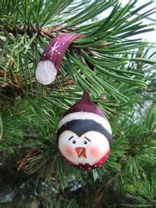 Painted Santa Spoon Ornaments