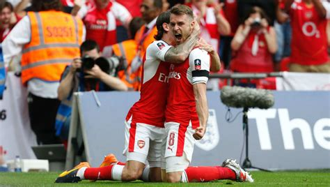 Arsenal 2-1 Chelsea: Aaron Ramsey Winner Sees Gunners Stun ...